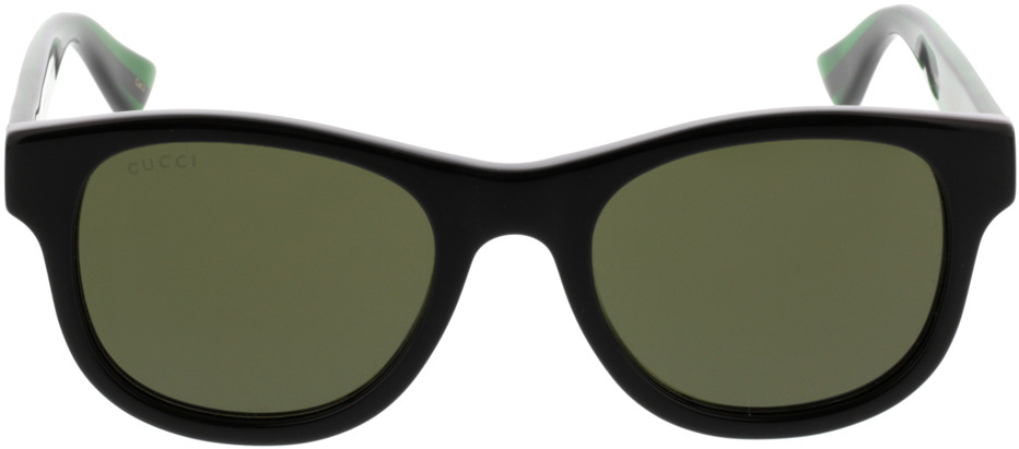 Picture of glasses model Gucci GG0003S-002 52-21 in angle 0