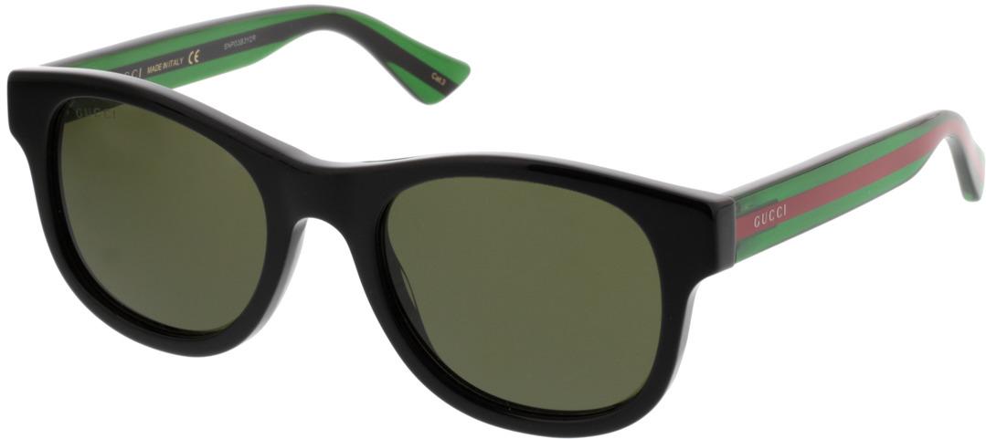 Picture of glasses model Gucci GG0003S-002 52-21