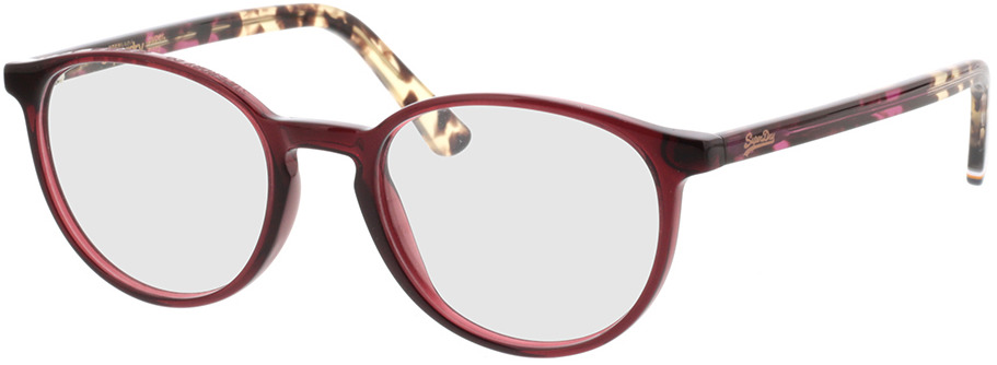 Picture of glasses model Superdry SDO Pyper 172 gloss pink/tort 50-19 in angle 330