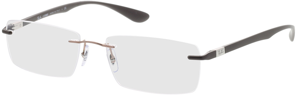 Picture of glasses model Ray-Ban RX8724 1131 56-17 in angle 330