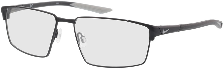 Picture of glasses model Nike NIKE 8053 009 55-15 in angle 330