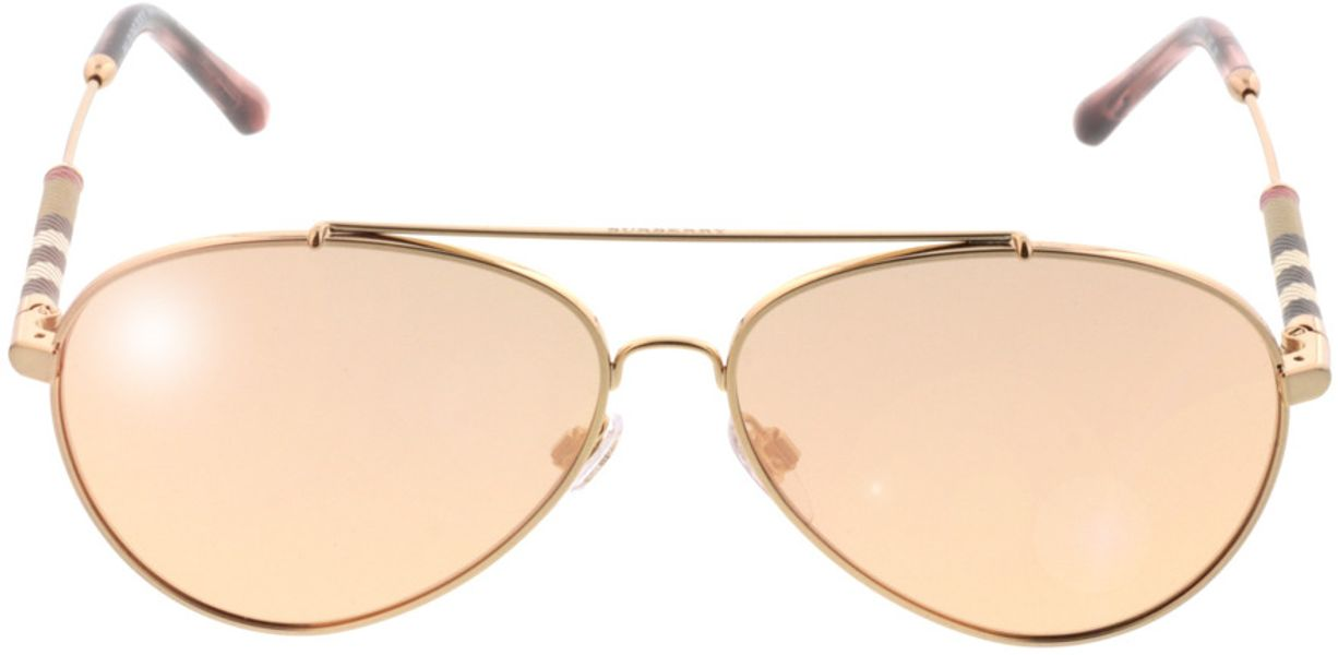 Picture of glasses model Burberry BE3092Q 12437J 57-13 in angle 0