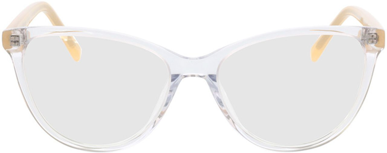 Picture of glasses model Alexia-transparent/gelb in angle 0