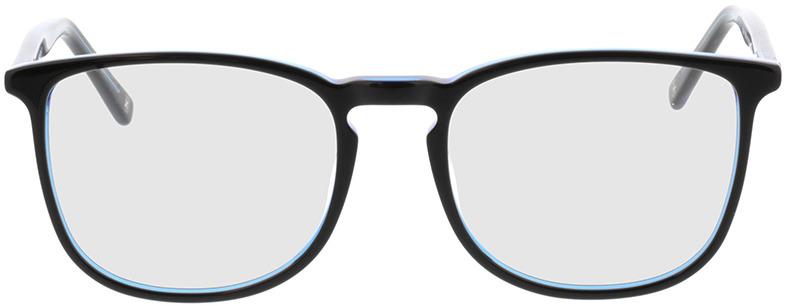 Picture of glasses model Scotia-schwarz/blau in angle 0