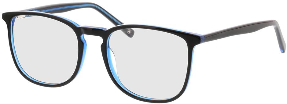 Picture of glasses model Scotia-schwarz/blau in angle 330