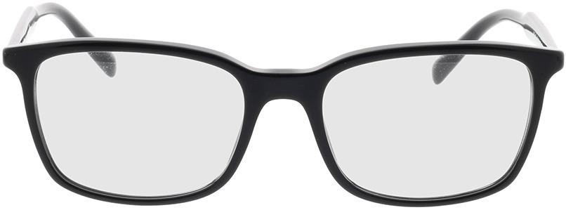 Picture of glasses model Prada PR 13XV 1AB1O1 55-18 in angle 0