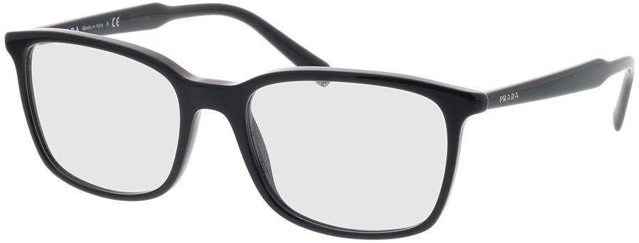 Picture of glasses model Prada PR 13XV 1AB1O1 55-18 in angle 330