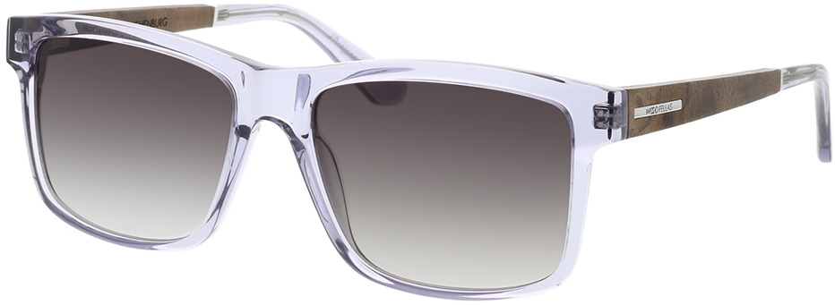Picture of glasses model Wood Fellas Sunglasses Hohenburg curled 56-17 in angle 330