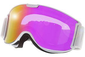 Skibrille Skyper LM White Matt/ltm Pink