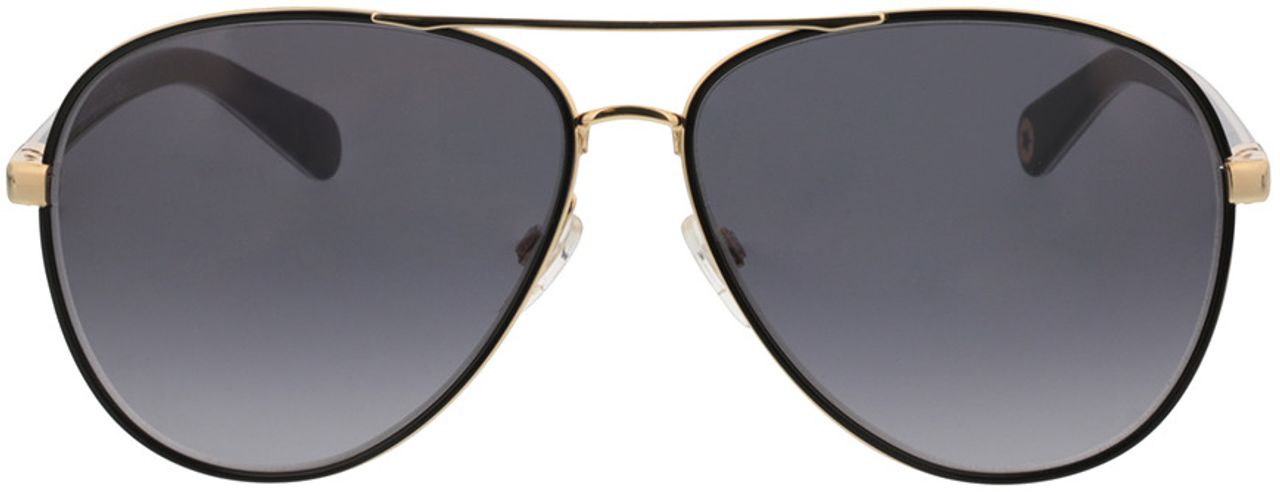 Picture of glasses model Tommy Hilfiger TH 1766/S 000 61-13 in angle 0