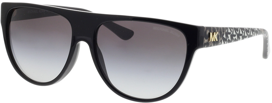 Picture of glasses model Michael Kors Barrow MK2111 30058G 57-15 in angle 330