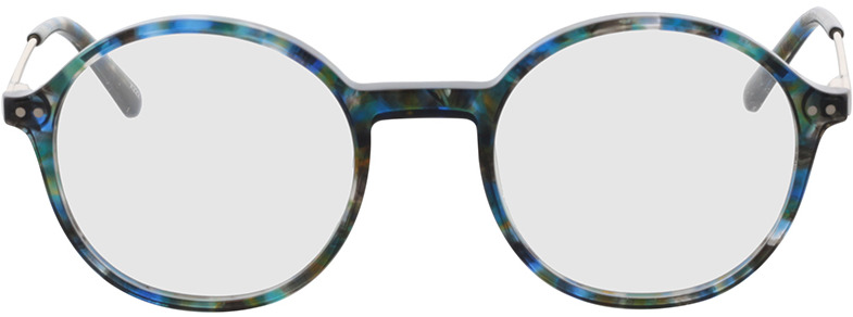 Picture of glasses model Spring-blau-meliert/gold in angle 0