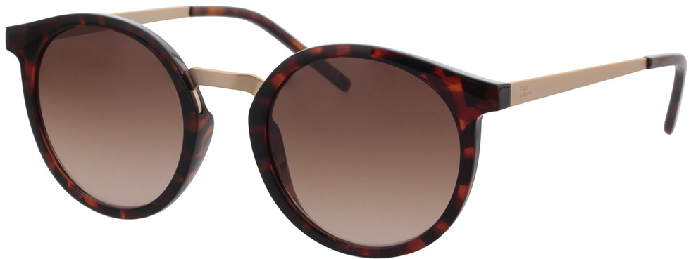 Picture of glasses model TAKE A SHOT Leonie: Havana - Braun Gradient Bio TR-90 + Metal in angle 330