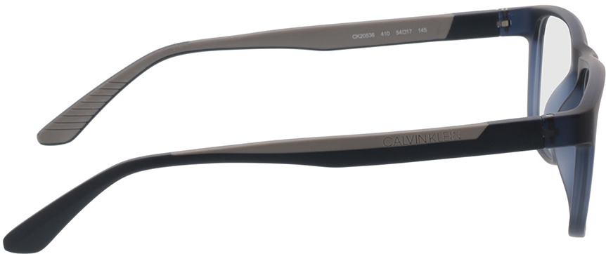 Picture of glasses model Calvin Klein CK20536 410 54-17 in angle 90