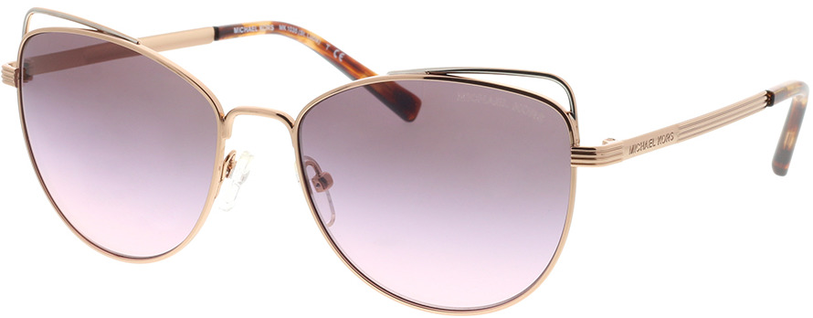 Picture of glasses model Michael Kors St. Lucia MK1035 11085M 55-17 in angle 330