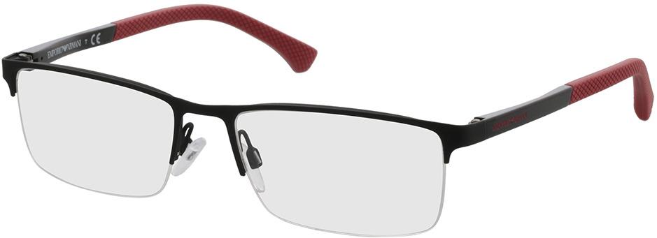 Picture of glasses model Emporio Armani EA1041 3109 55-17 in angle 330