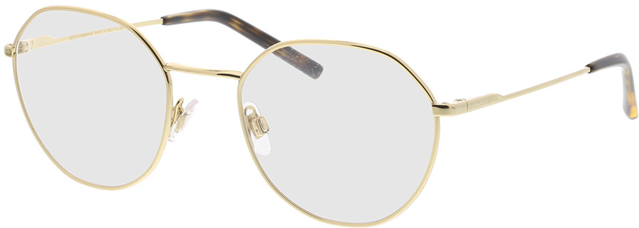 Picture of glasses model Dolce & Gabbana DG1324 02 52-21 in angle 330