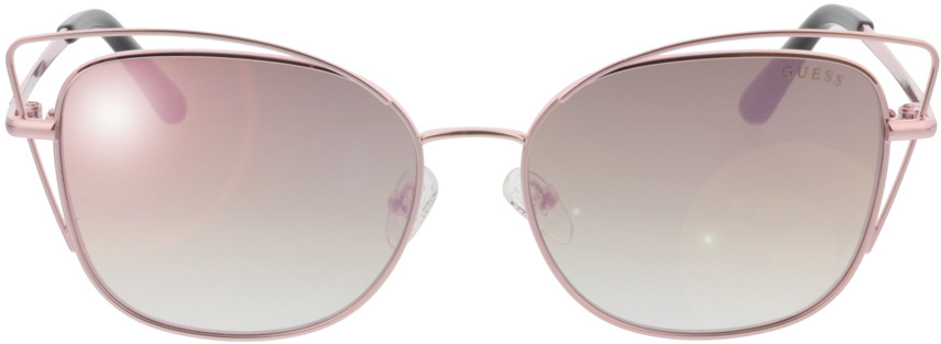 Picture of glasses model Guess GU7528 28Z 56-16 in angle 0