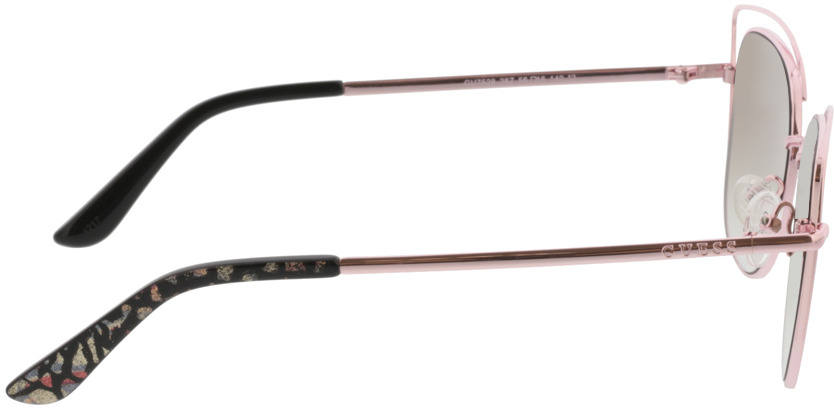 Picture of glasses model Guess GU7528 28Z 56-16 in angle 90
