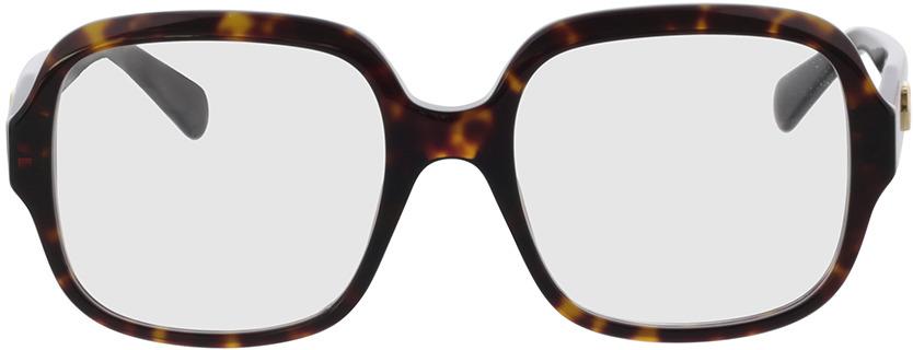 Picture of glasses model Gucci GG0799O-002 53-19 in angle 0