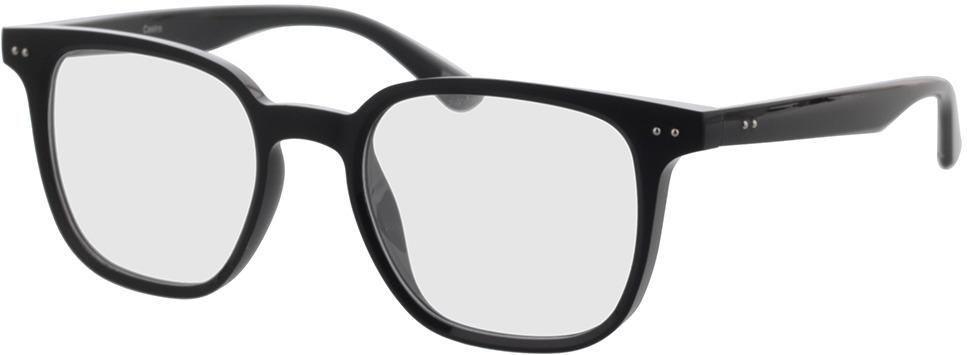 Picture of glasses model Castro-schwarz in angle 330