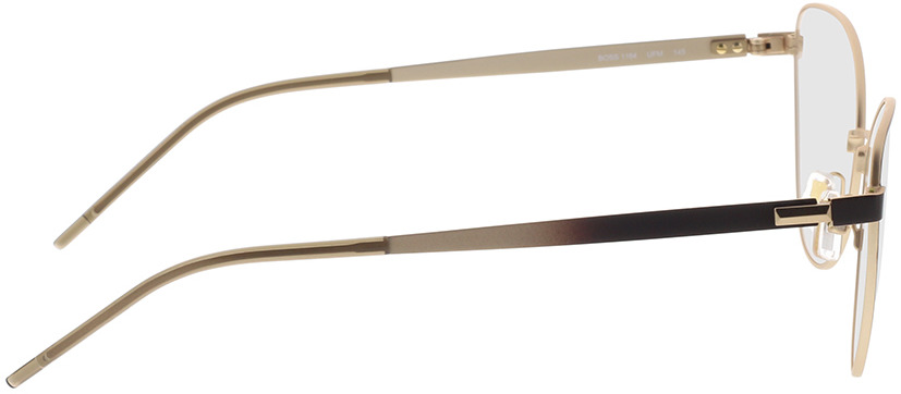 Picture of glasses model Boss BOSS 1164 UFM 56-17 in angle 90