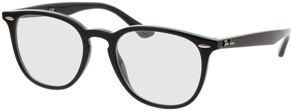 Picture of glasses model Ray-Ban RX7159 2000 52-20 in angle 330