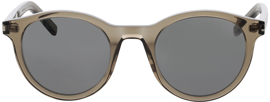 Picture of glasses model Saint Laurent SL 342-005 49-23 in angle 0