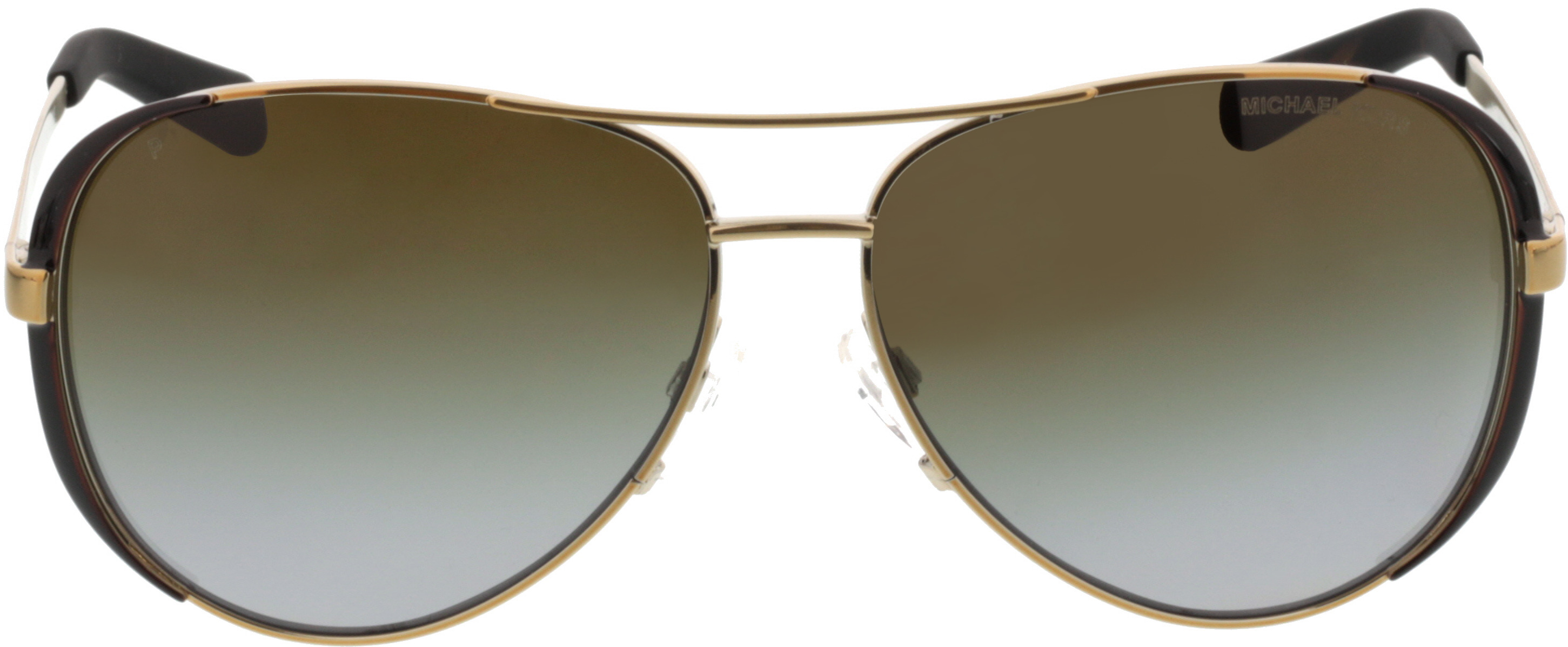 Picture of glasses model Michael Kors Chelsea MK5004 1014T5 59-13 in angle 0