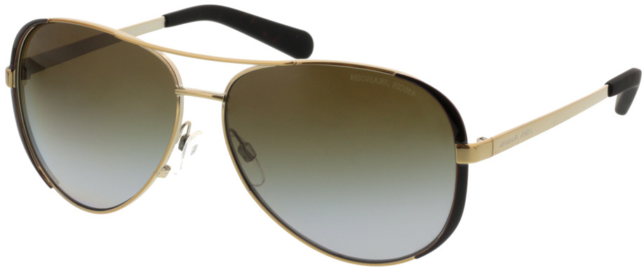 Picture of glasses model Michael Kors Chelsea MK5004 1014T5 59-13 in angle 330