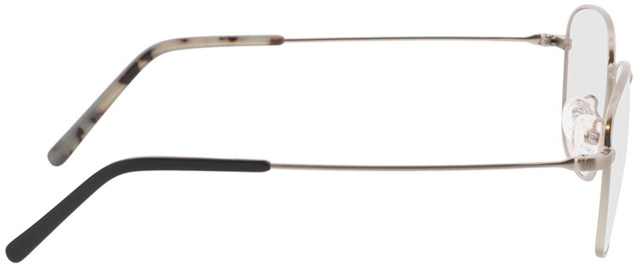 Picture of glasses model Tito-silber  in angle 90
