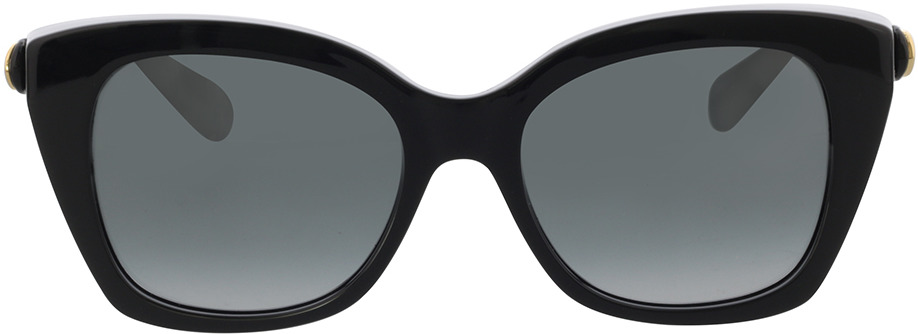 Picture of glasses model Gucci GG0921S-001 55-19 in angle 0