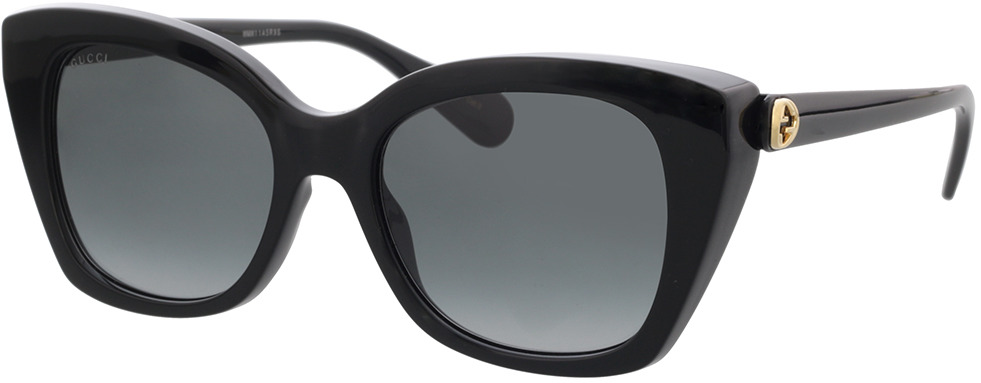 Picture of glasses model Gucci GG0921S-001 55-19 in angle 330