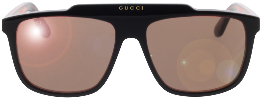 Picture of glasses model Gucci GG1039S-003 58-16 in angle 0