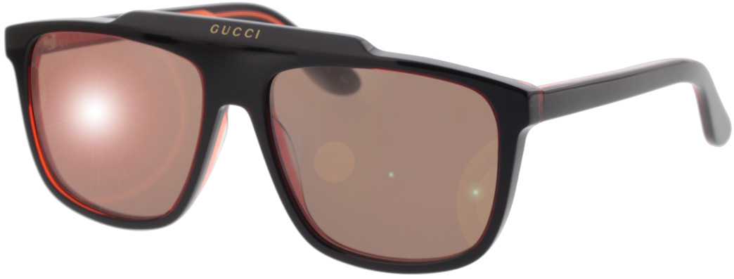 Picture of glasses model Gucci GG1039S-003 58-16 in angle 330