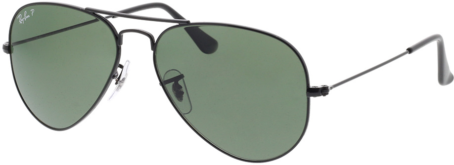 Picture of glasses model Ray-Ban Aviator Large Metal RB 3025 002/58 55-14