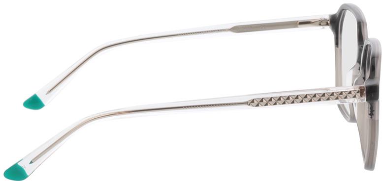 Picture of glasses model Fermo-grau-verlauf/transparent in angle 90