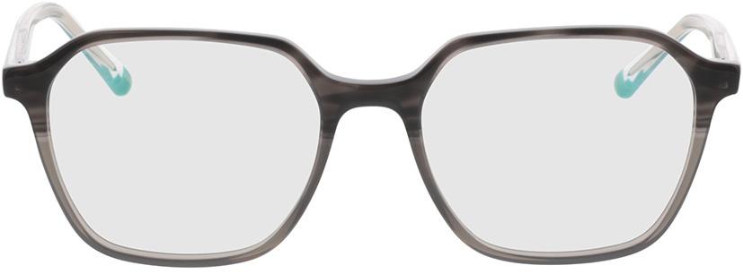 Picture of glasses model Fermo-grau-verlauf/transparent in angle 0