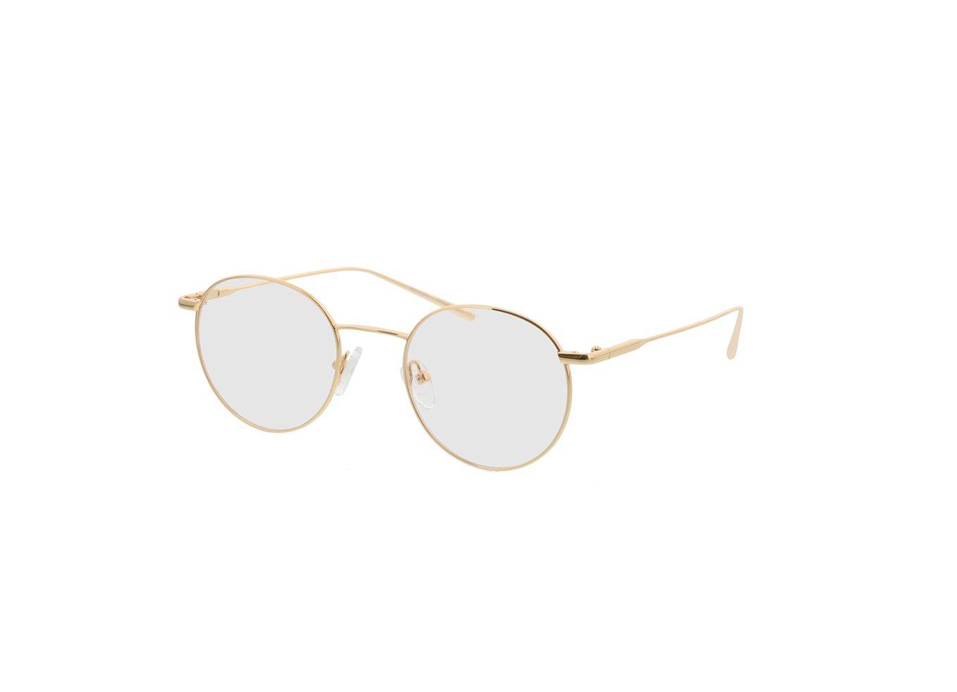 4817-singlevision-0000 Forks-gold Gleitsichtbrille, Vollrand, Rund Brille24 Collection