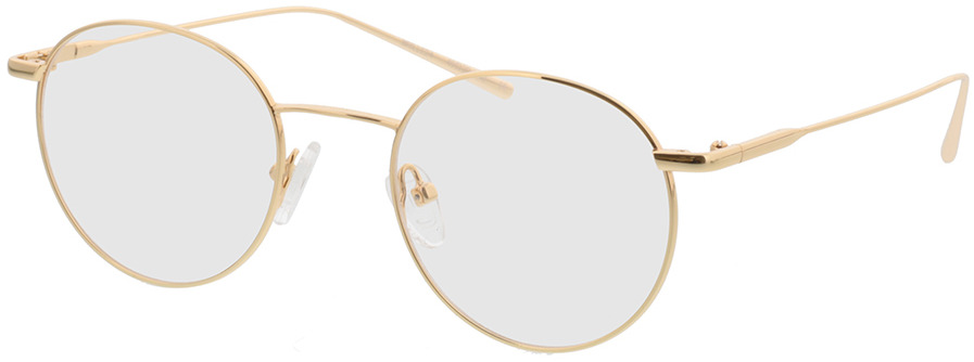 Picture of glasses model Forks gold in angle 330