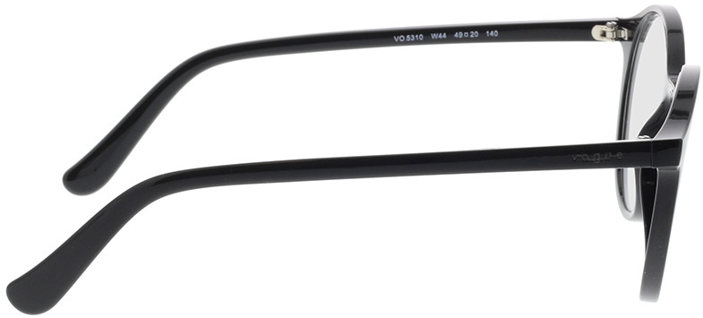 Picture of glasses model Vogue VO5310 W44 49-20 in angle 90