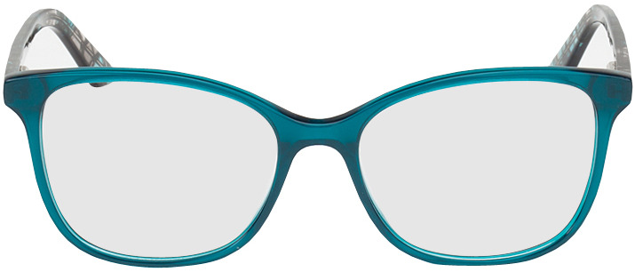 Picture of glasses model Dinant blue/black in angle 0