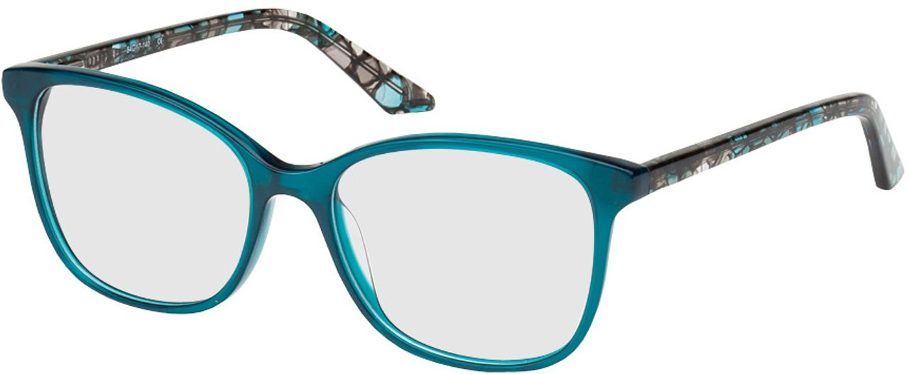 Picture of glasses model Dinant blue/black in angle 330