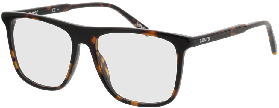 Picture of glasses model Levi's LV 1016 086 52-15 in angle 330