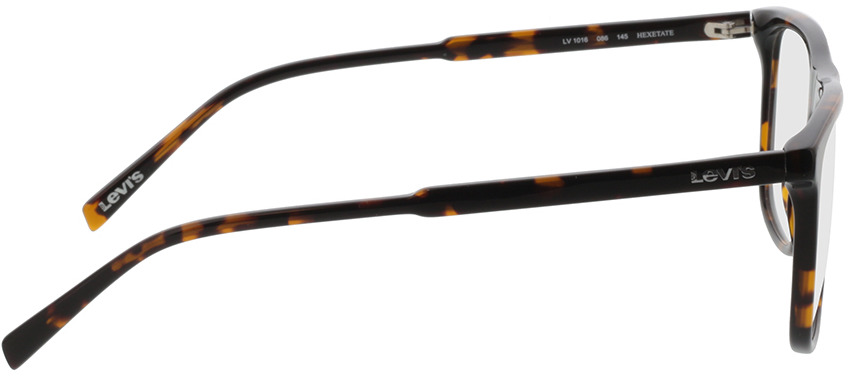 Picture of glasses model Levi's LV 1016 086 52-15 in angle 90