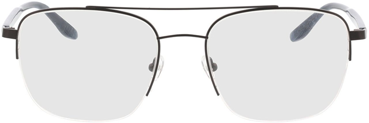Picture of glasses model Zeus-schwarz/blau horn in angle 0