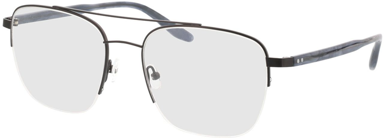 Picture of glasses model Zeus-schwarz/blau horn in angle 330