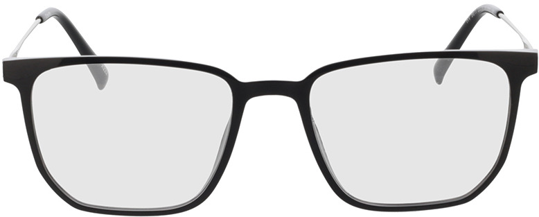 Picture of glasses model Charles-schwarz/matt silber in angle 0