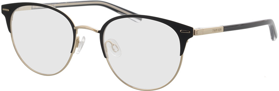 Picture of glasses model Calvin Klein CK21303 001 49-19 in angle 330