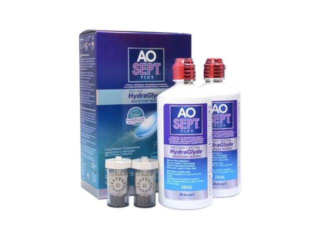 AOSEPT® PLUS mit HydraGlyde® 2 x 360ml